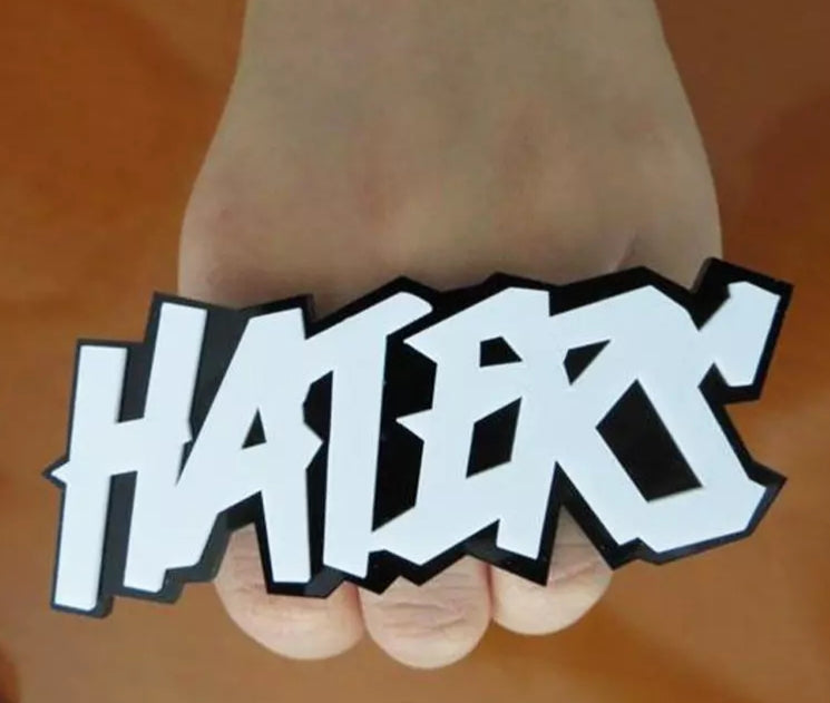 HATERS Adjustable Ring