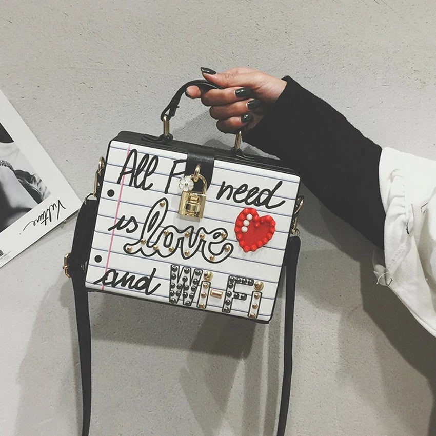 Love and Wifi Handbag
