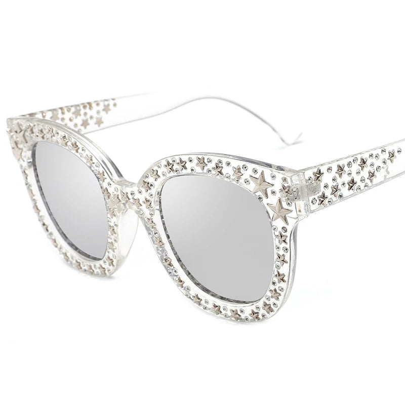 Star Clear Sunglasses