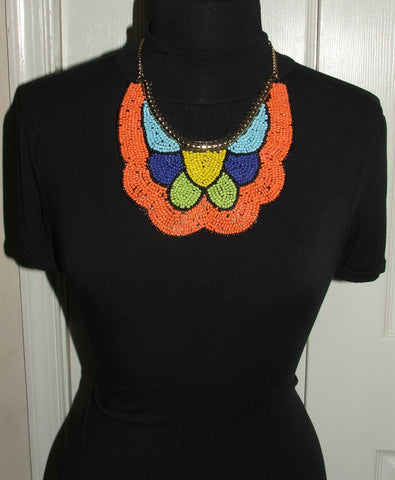 Boho Style Statement Necklace