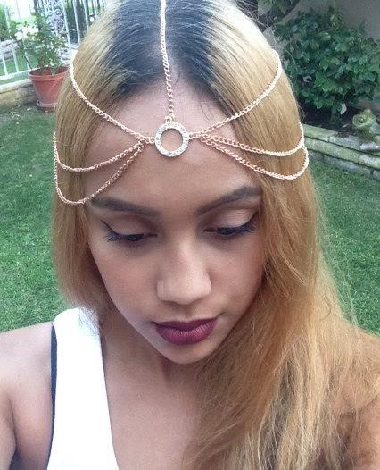 Bohemian Layered Head Jewelry