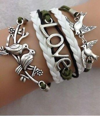 Large Metal Toggle Bracelet