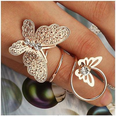 7 Piece Midi Ring Set