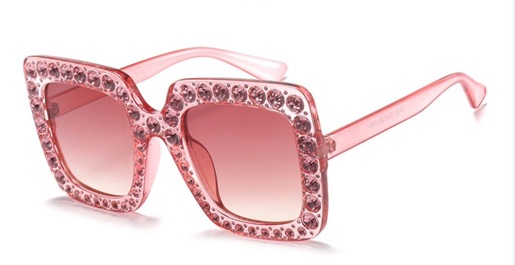 Pink Bling Sunglasses