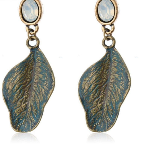 Chunky Feather Earrings