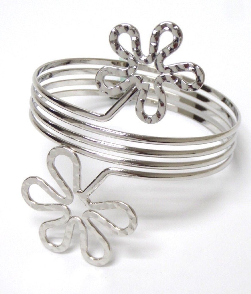 Double Flower Arm Cuff