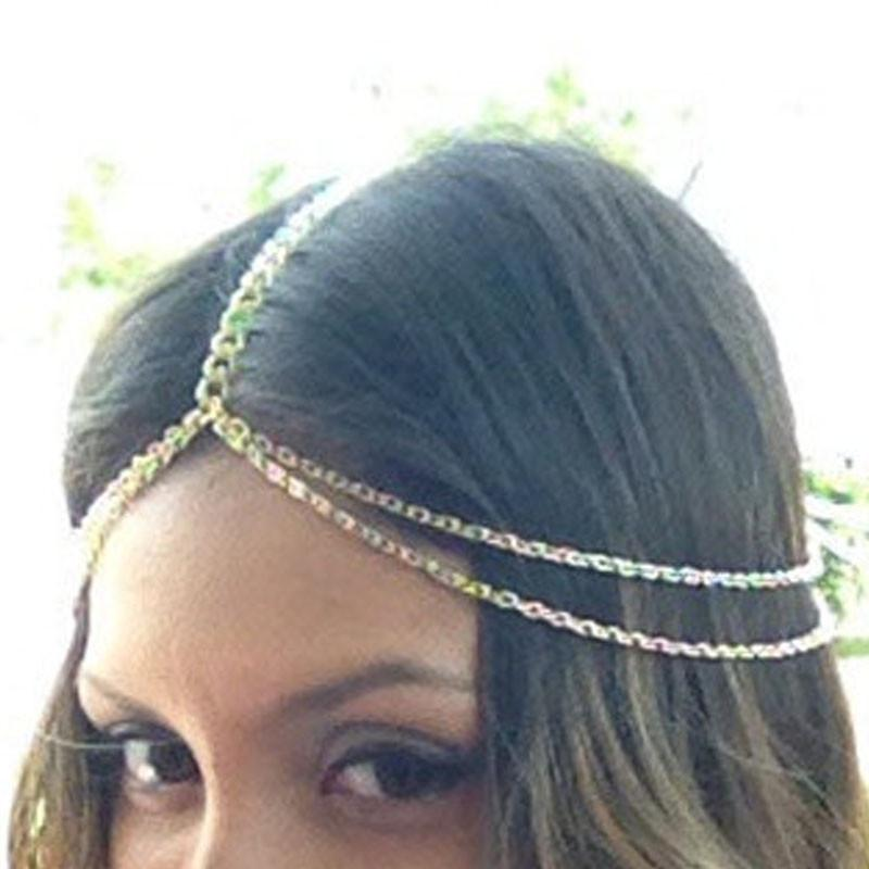 Boho Chain Head Jewelry