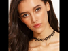 Black Heart Choker Necklace