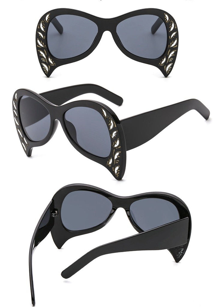 Oversized  Peacock Sunglasses