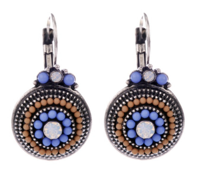 Multicolored Beaded Earrings