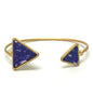 Triangle Abstract Stone Bracelet
