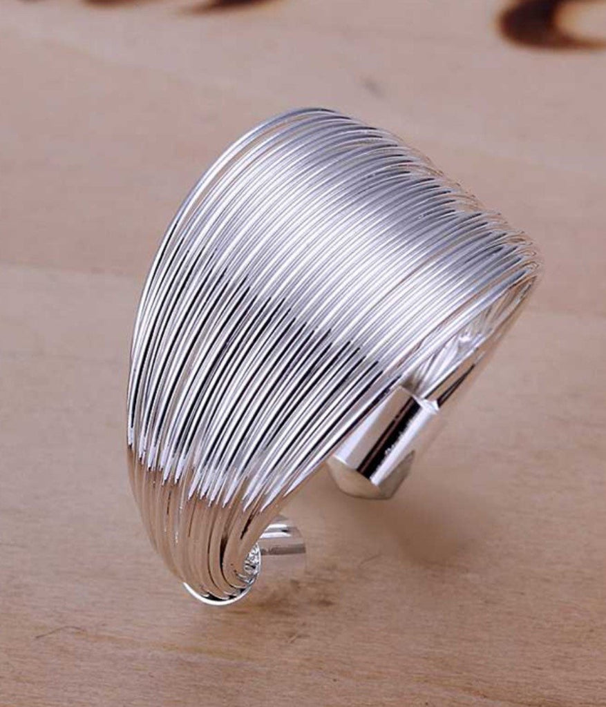 925 Sterling Silver Wire Ring