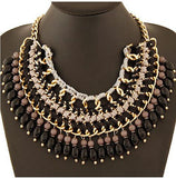 Chunky Bib Statement Necklace