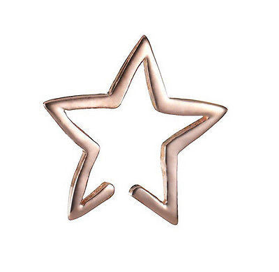 Open Star Ear Cuff