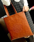 High Polish Leather Messanger Bag