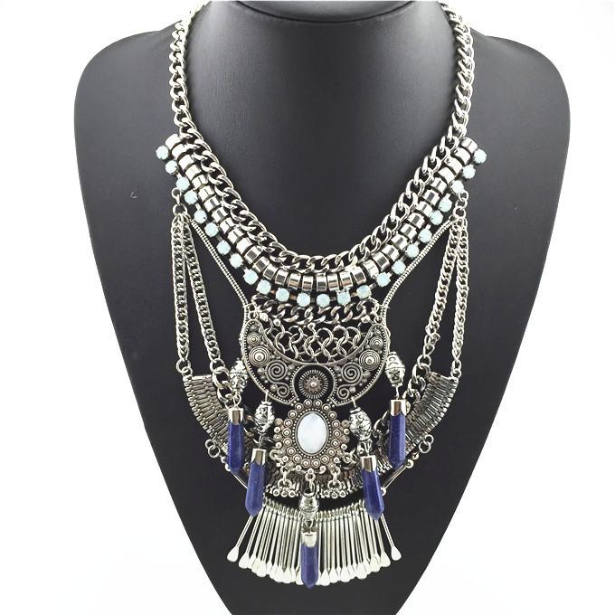 Boho Gypsy Statement Necklace