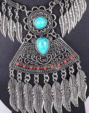 Ethnic Leaf Necklace