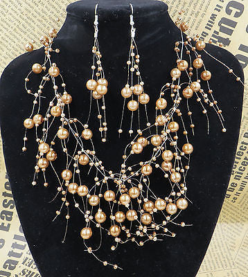 Multi Layer Pearl Necklace