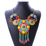 Tribal Style Beaded Necklace