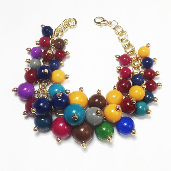 Multicolor Bubble Bracelet