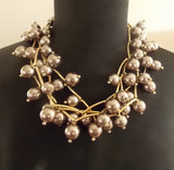Sexy Pearl Statement Necklace