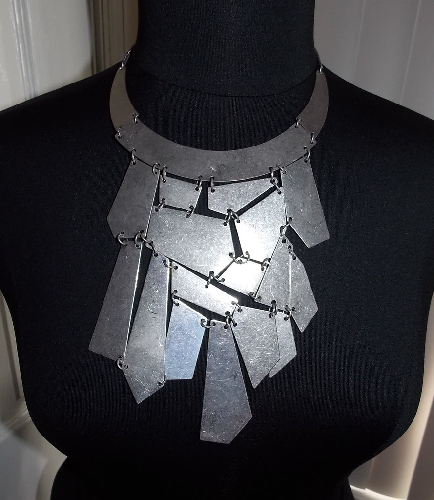 Large Abstract Statement Necklace