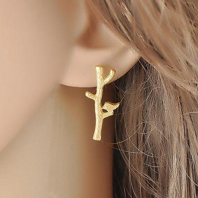 Bird Branch Earrings