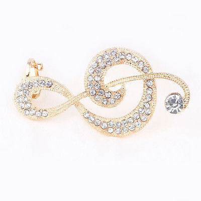 Music Note Ear Cuff