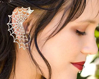 Spikey Bling Ear Cuff