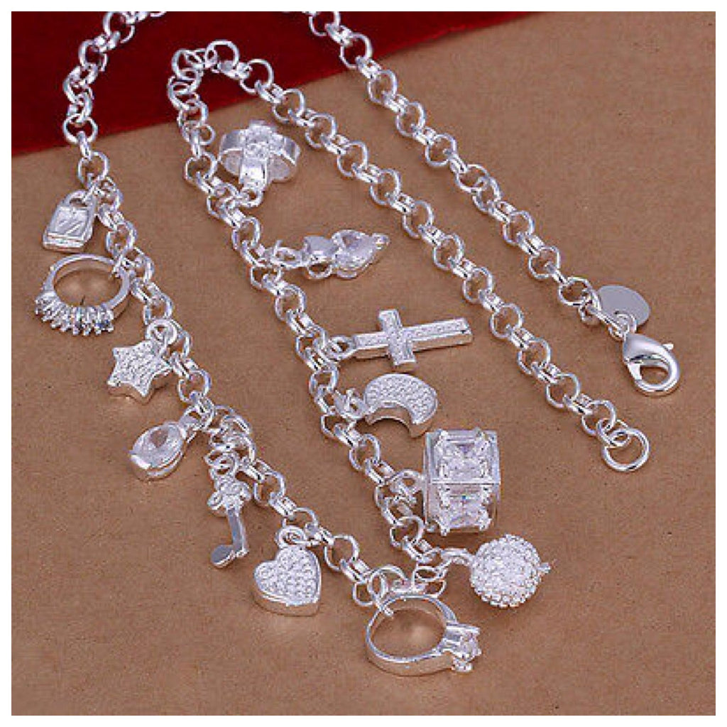 925 Silver Charm Necklace