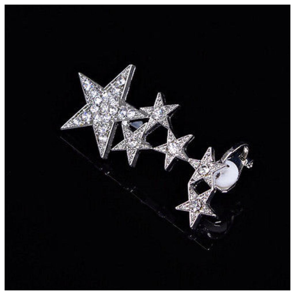 Retro Star Ear Cuff