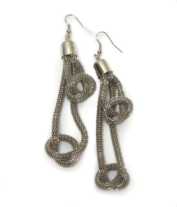 Twisted Metal Earrings
