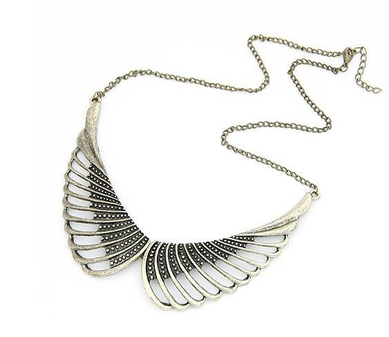Bronze Wings Necklace