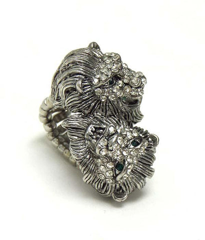 Red Stone Vintage Style Ring