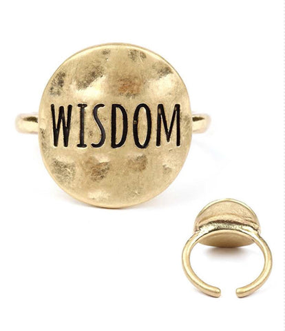 Unique Gold Adjustable Ring