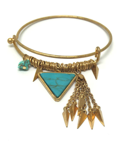 Arrow Cooper Colored Bracelet