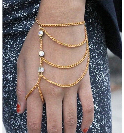 Multilayer Crystal Hand Harness