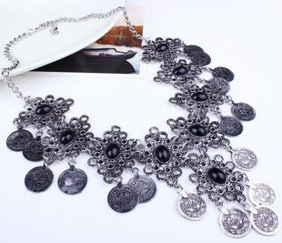 Coin Statement Necklace
