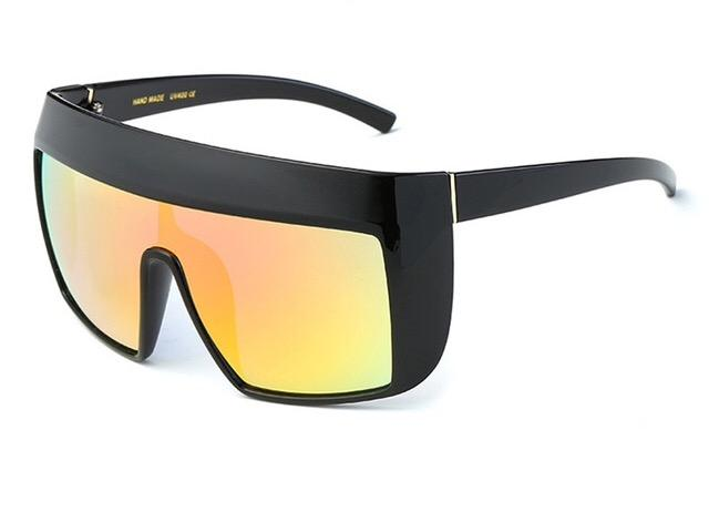 Large Frame Black Sunglasses
