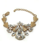 Art Deco Crystal Adjustable Bracelet