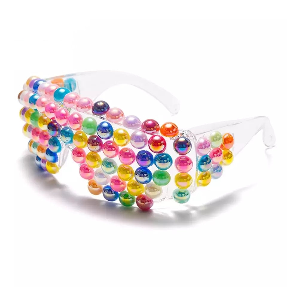 Multicolor Bubble Sunglasses