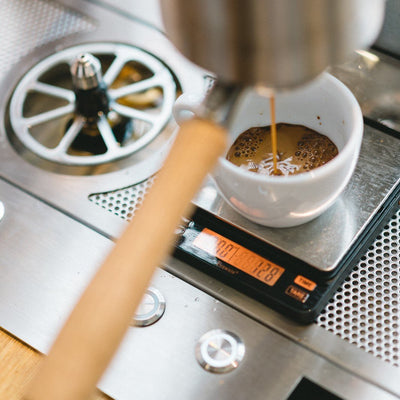 Ohm Coffee Scale by Brewista