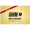 Ohm Coffee Truck Gift Card