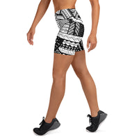 Tribal Yoga Shorts