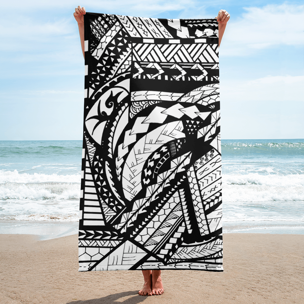 Ke'ano Lua Beach Towel | All Tribe Design
