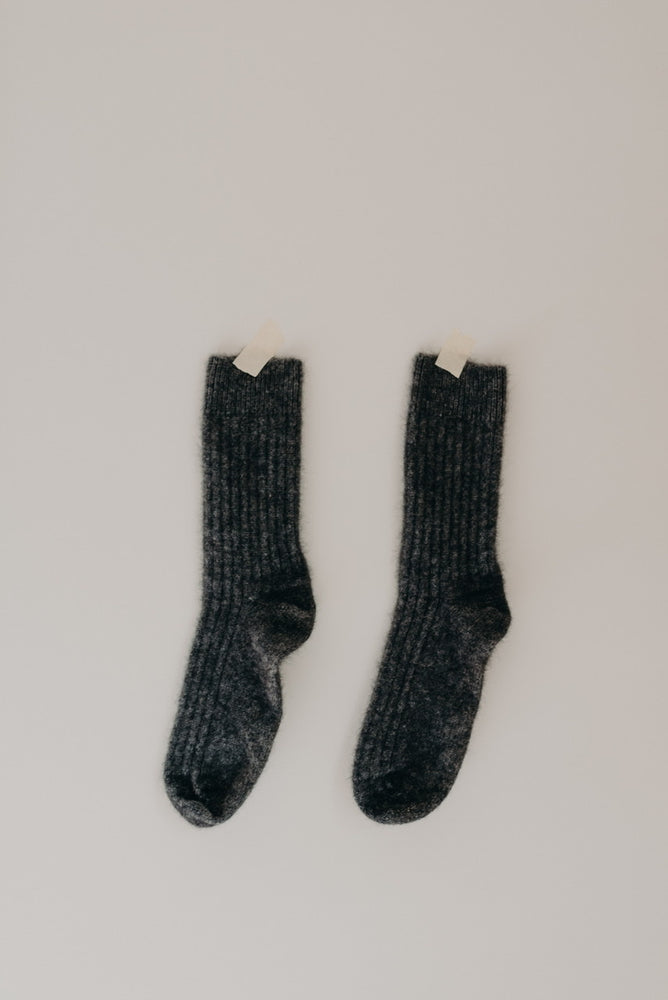 SOCKS - GREY, MOCCA, INDIGO & BLACK.