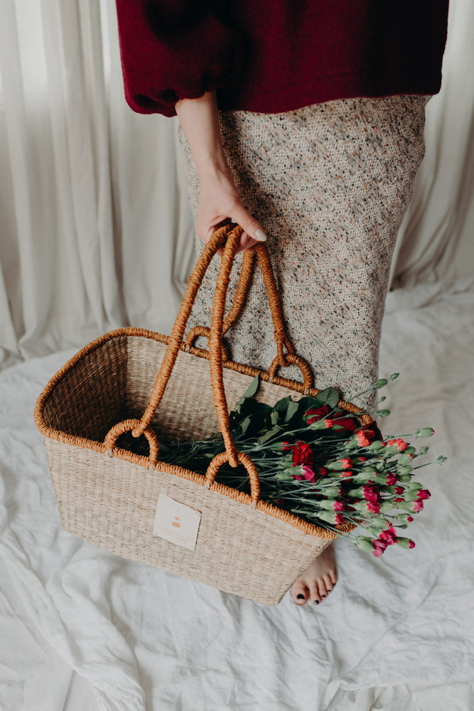 THE SOL SHOPPER - SEAGRASS BASKET