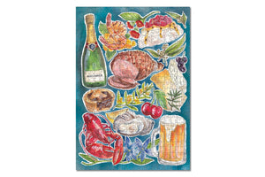 Load image into Gallery viewer, JIGSAW PUZZLE - 500 PIECE - PAVLOVA & PRAWNS