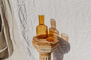 Load image into Gallery viewer, J'AI SOIF CARAFE & GLASS - AMBER
