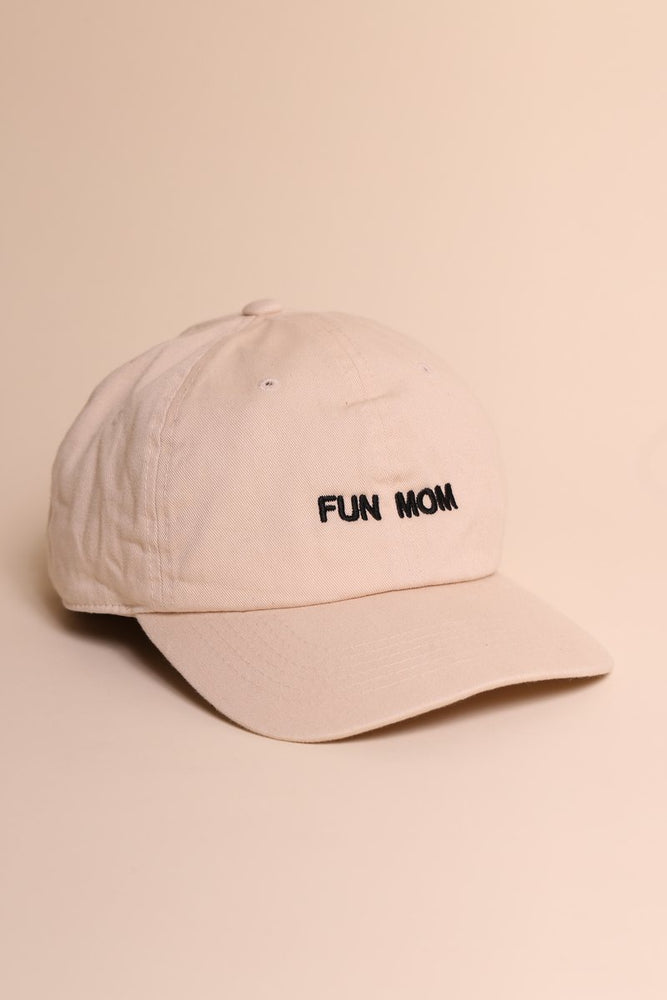 FUN MOM CAP - SAND/BLACK